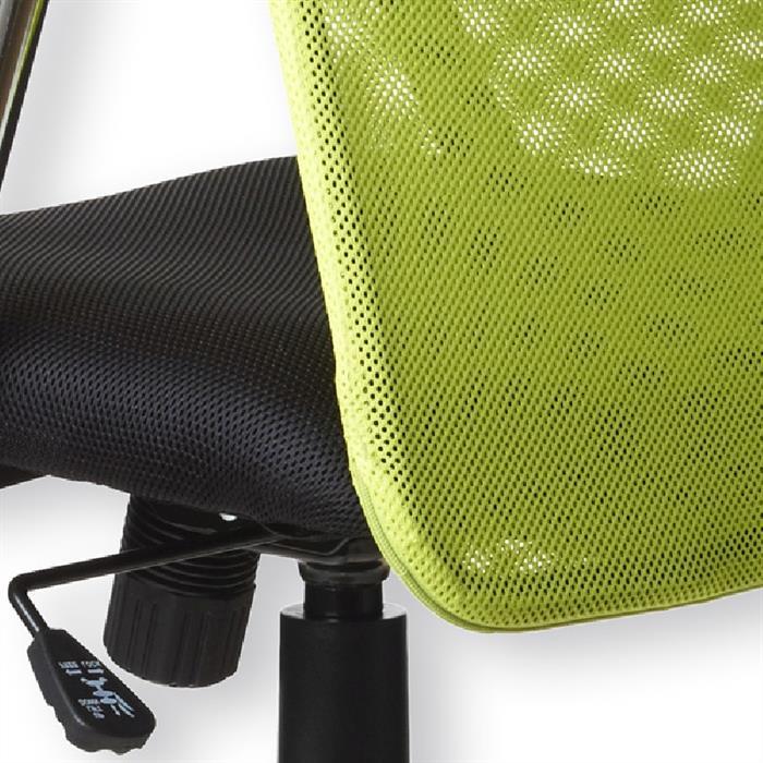 Schreibtischstuhl in grün-schwarz