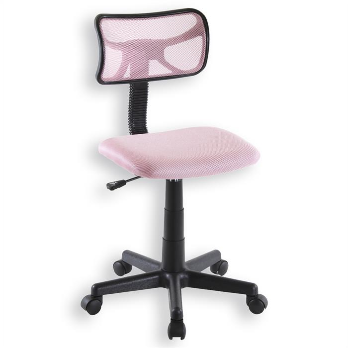 Kinderdrehstuhl mit Netzbezug in pink