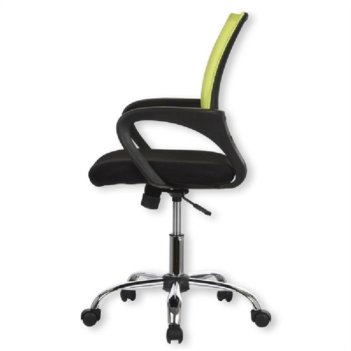 Bürodrehstuhl, höhenverstellbar, grün