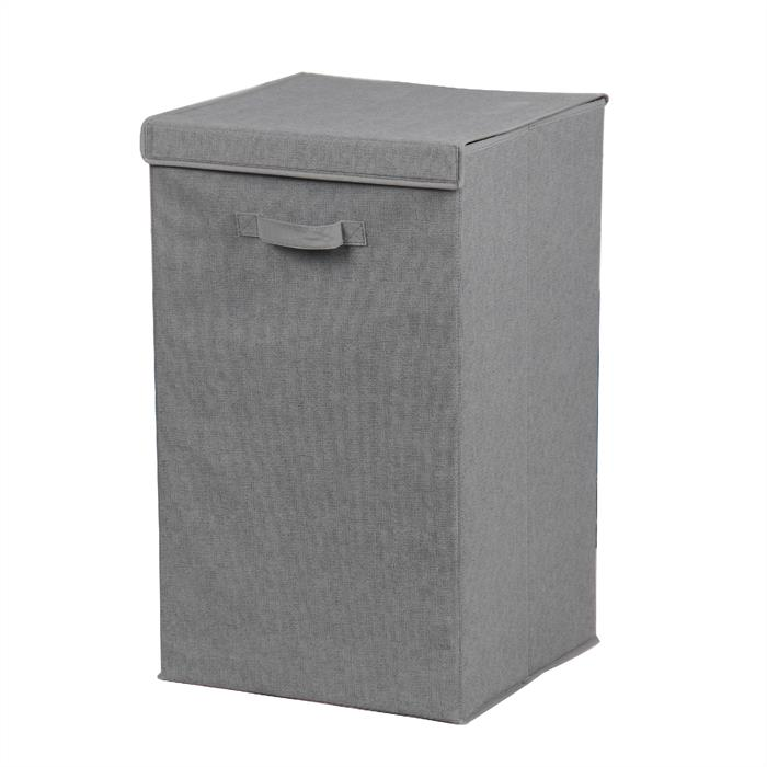 Wäschesammler PINO in grau, faltbar