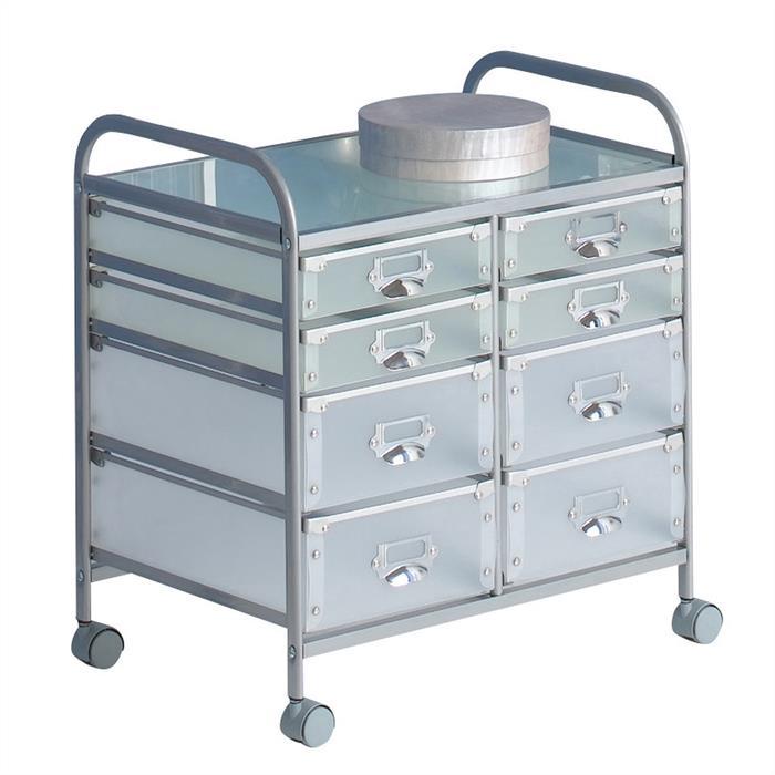 Rollcontainer mit 8 Schubladen