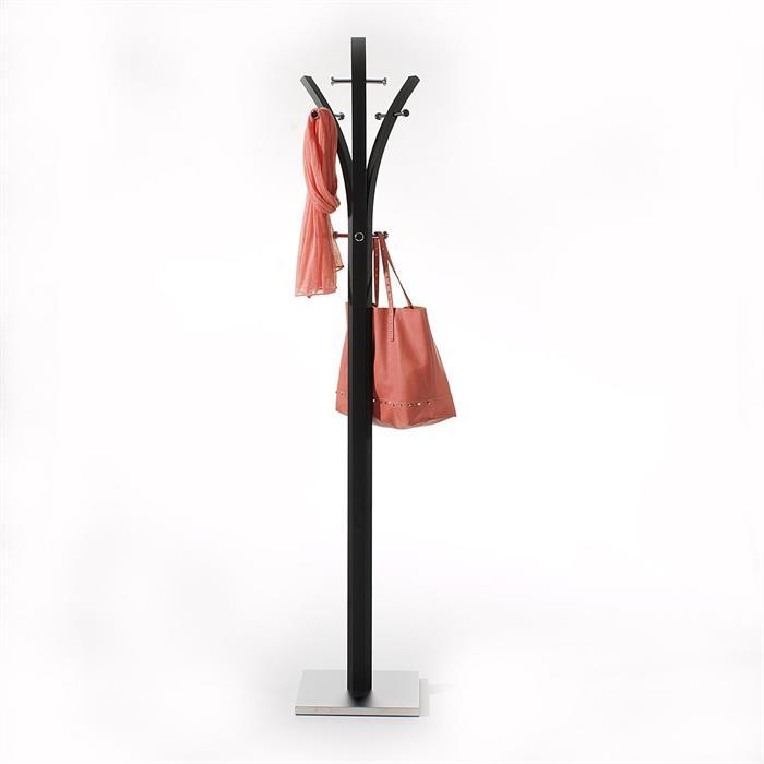Garderobenständer in schwarz lackiert