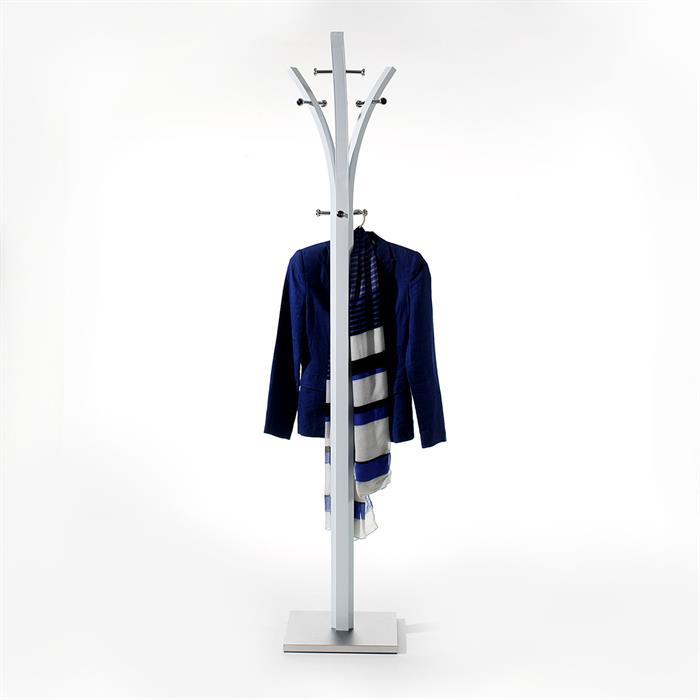 Garderobenständer in weiß lackiert