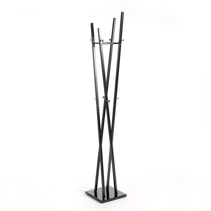 Kleiderständer aus Metall in schwarz