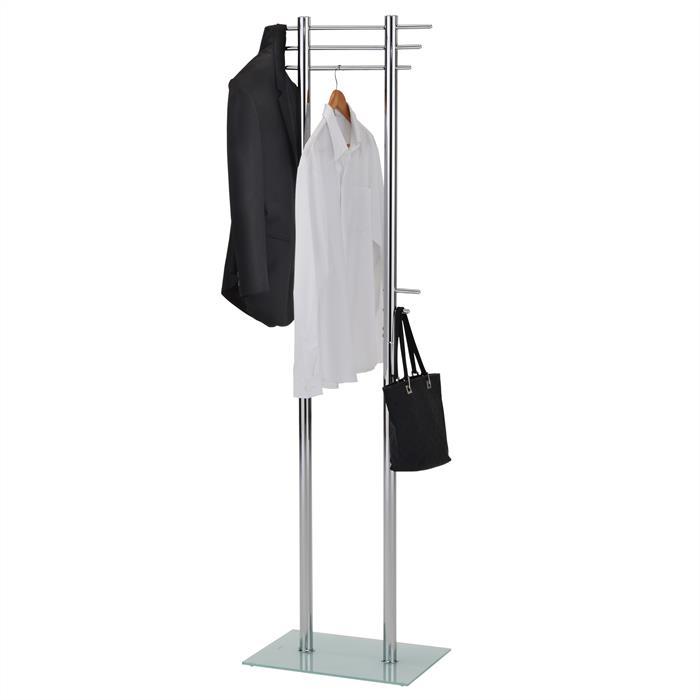 Kleiderständer in chrom mit 10 Haken