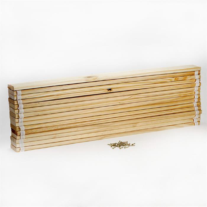 Rollrost aus Kiefer massiv, 100 x 200 cm