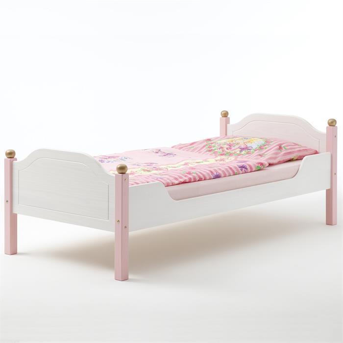 Mädchenbett VALERIA in weiß rosa
