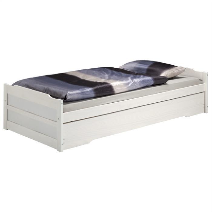 Funktionsbett 90x190 mit Stauraum