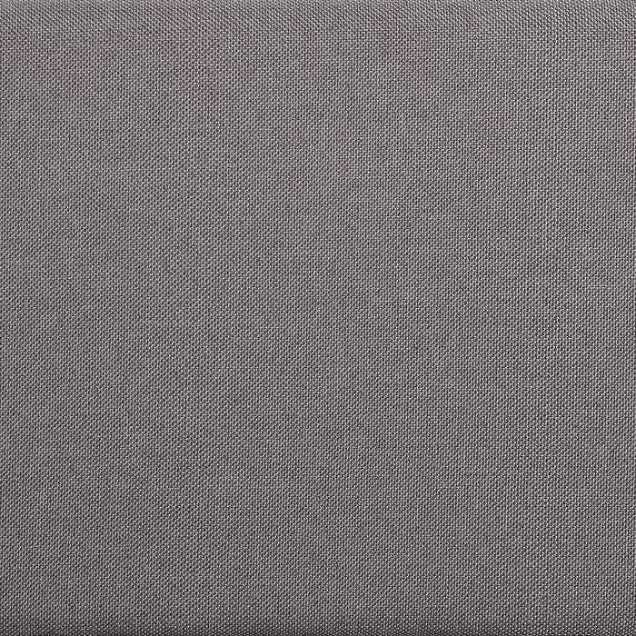 Futonbett LAREDO 140x200cm inkl. Lattenrost in grau