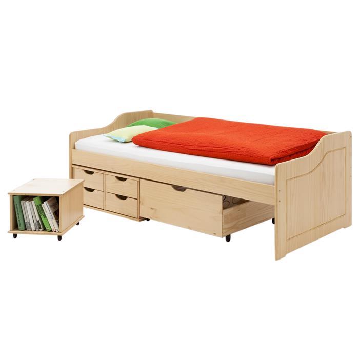 Sofabett buchefarben