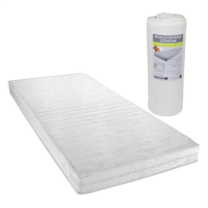 Komfortschaummatratze in 100 x 200 cm