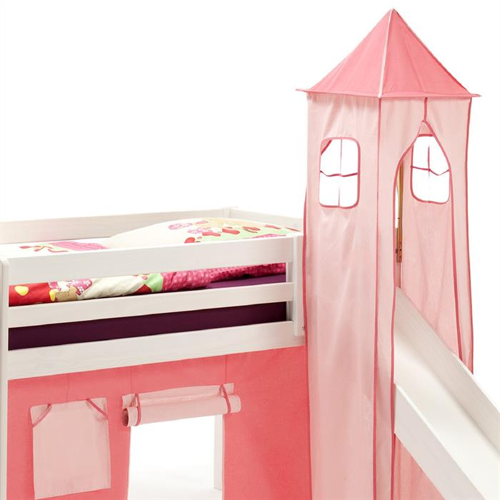 Turm für Spielbett in pink/rosa