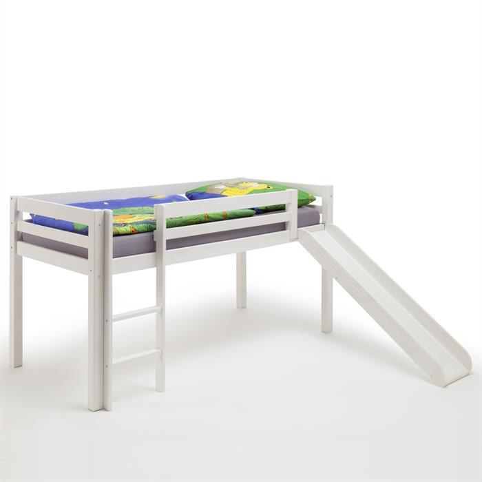 Rutschbett in weiß, 90 x 200 cm