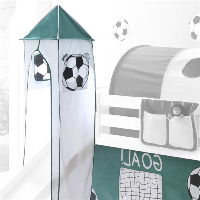 Turm fürs Spielbett mit Fußball Motiv