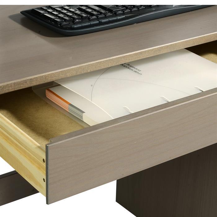 Schreibtisch in Kiefer massiv taupe