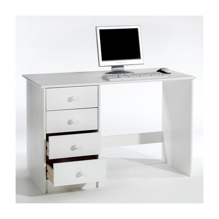 Schreibtisch in weiß lackiert