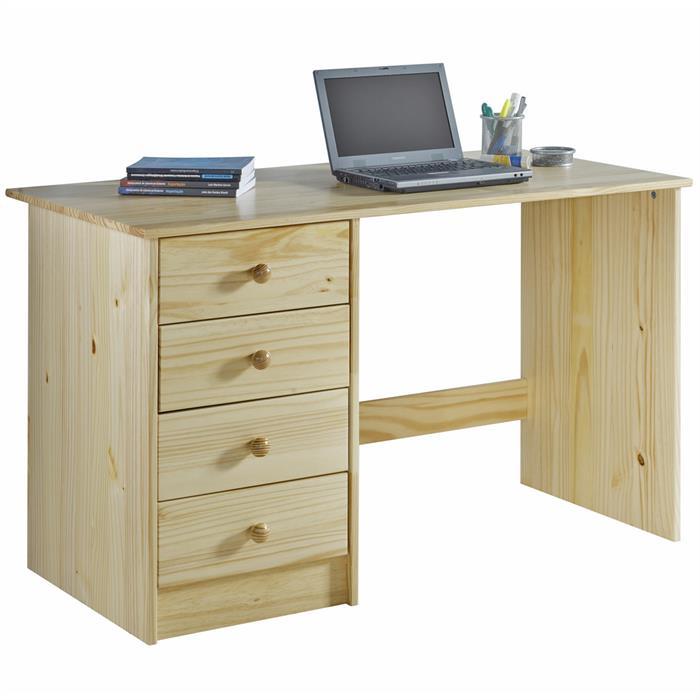 Schreibtisch in natur lackiert