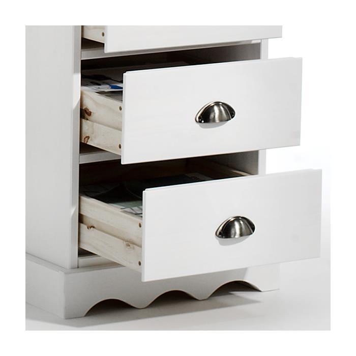 Schreibtisch mit Aufsatz in weiß