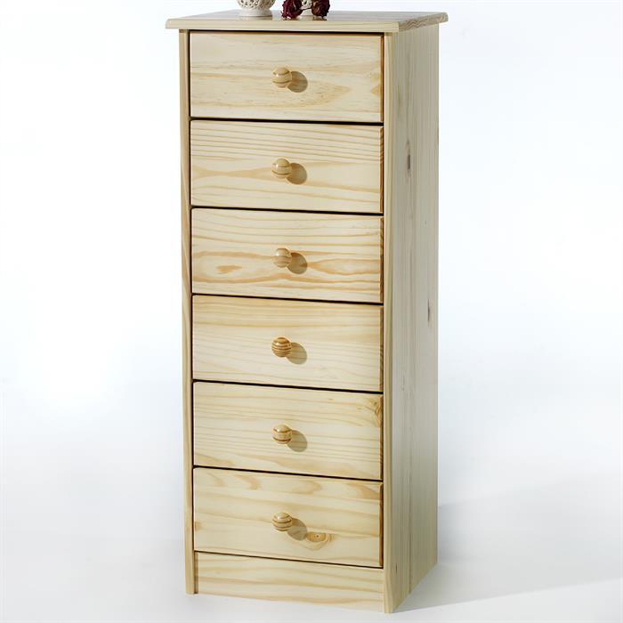 schubladenkommode kiefer in natur lackiert caro m bel. Black Bedroom Furniture Sets. Home Design Ideas