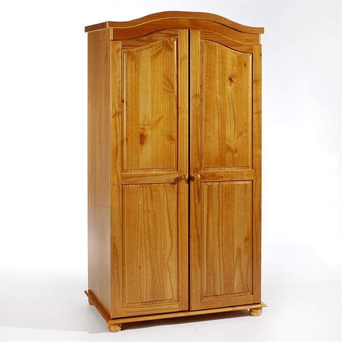 Kleiderschrank, Kiefer in honigfarben