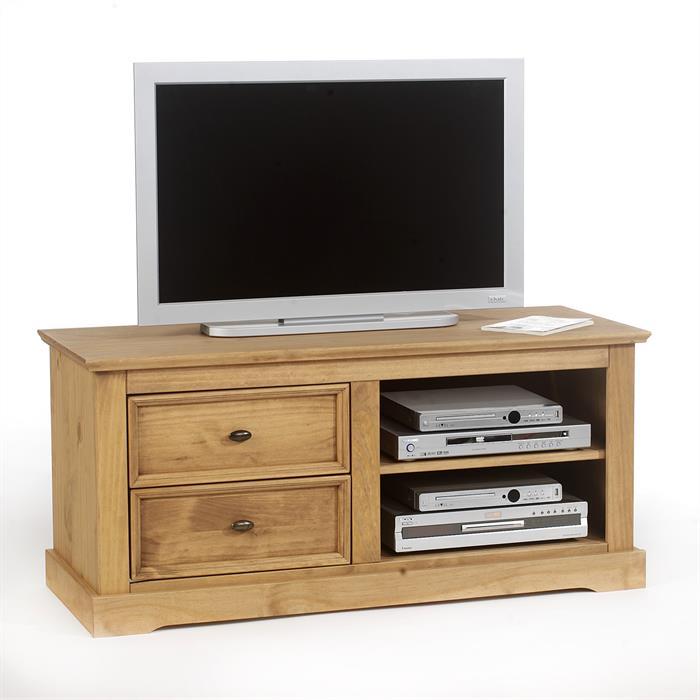 TV-Kommode mit 2 Schubladen/2 Ablagefächer