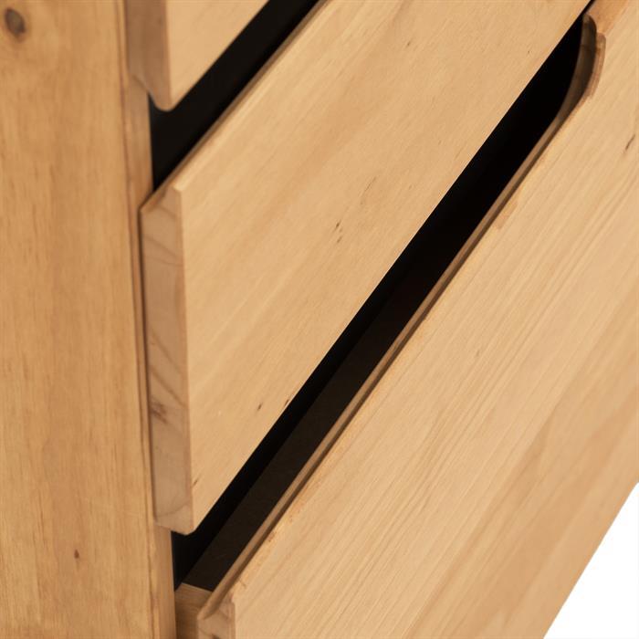 Sideboard skandinavisches Design gebeizt/gewachst