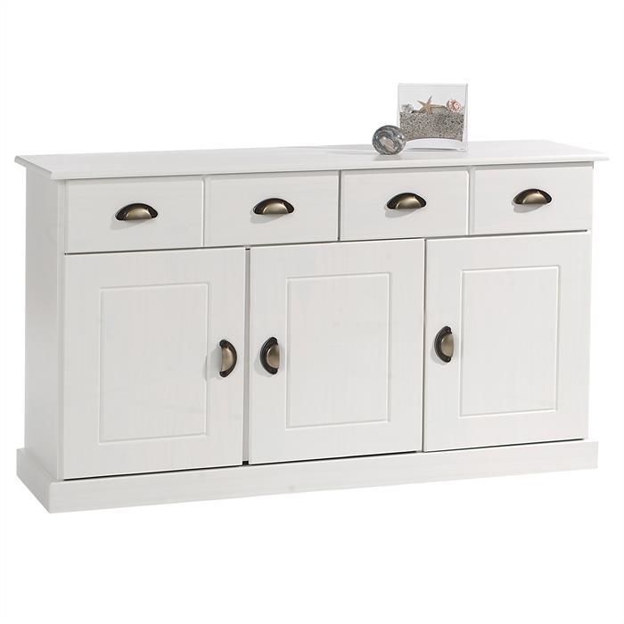 Anrichte 2 Schubladen 3 Türen in weiß