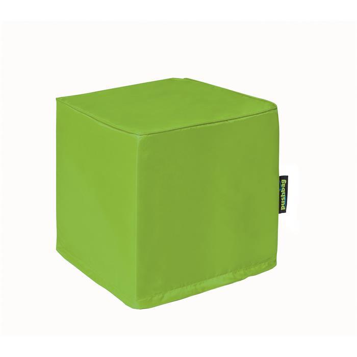Sitzwürfel in limone grün