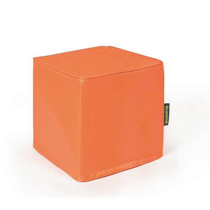 Sitzwürfel in orange