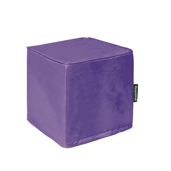Sitzwürfel in lila