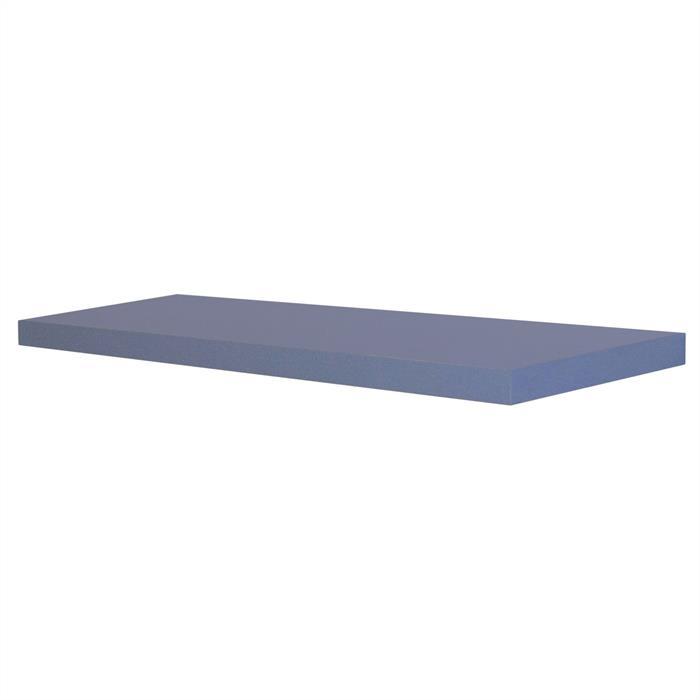 Wandsteckboard 60 cm in blau matt