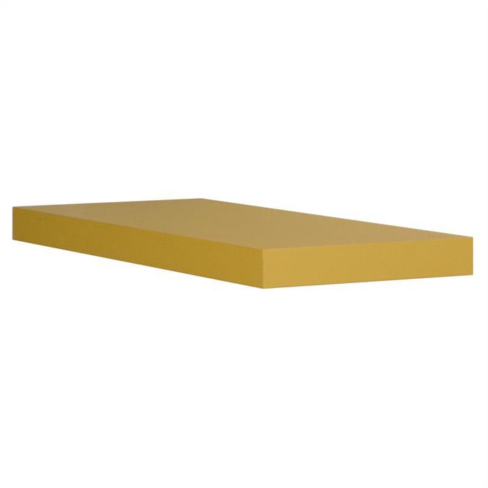 Wandsteckboard 60 cm in gelb matt