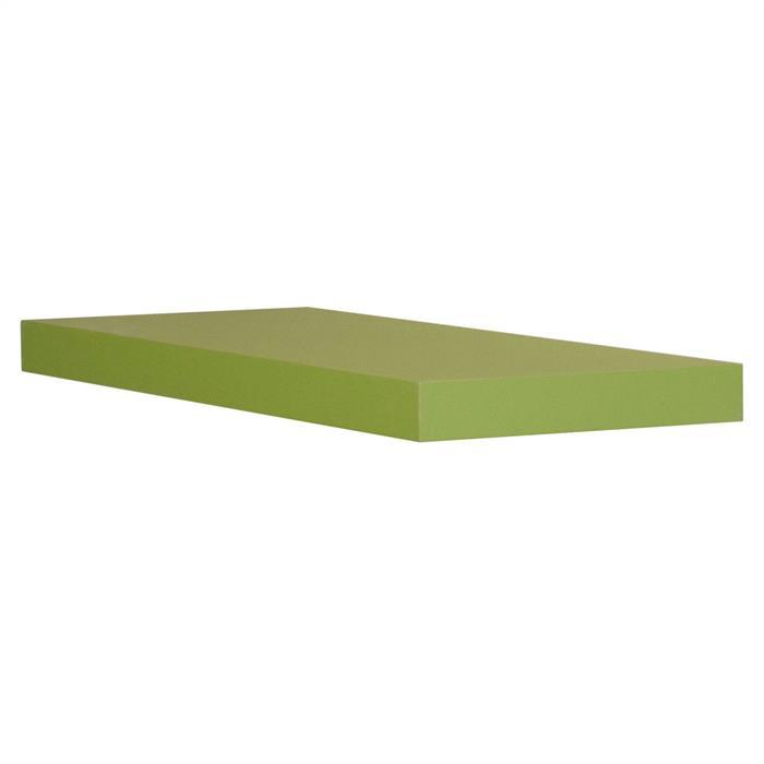 Wandsteckboard 60 cm in grün matt