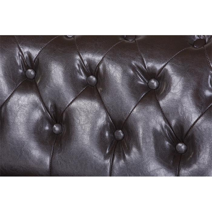 3-Sitzer Chesterfield Sofa GRACE, Dekonägel