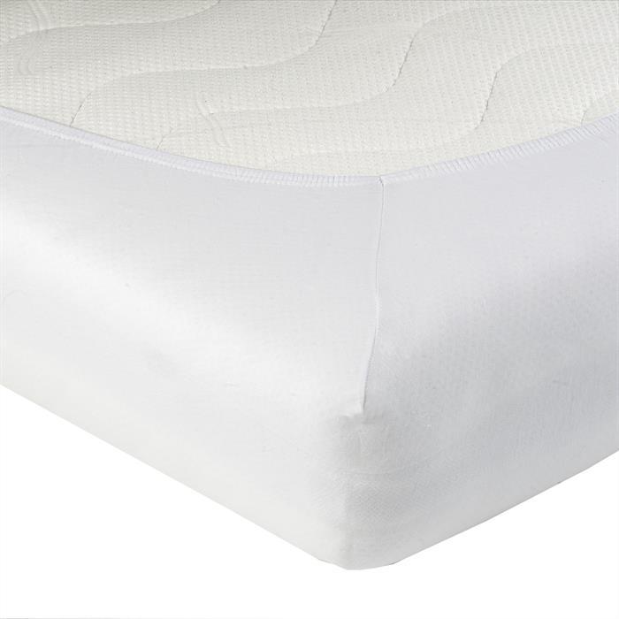 Jersey Spannbettlaken PIA, 90x200 cm weiß