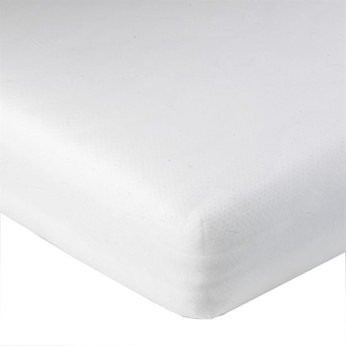 Jersey Spannbettlaken PIA, 120x200 cm weiß