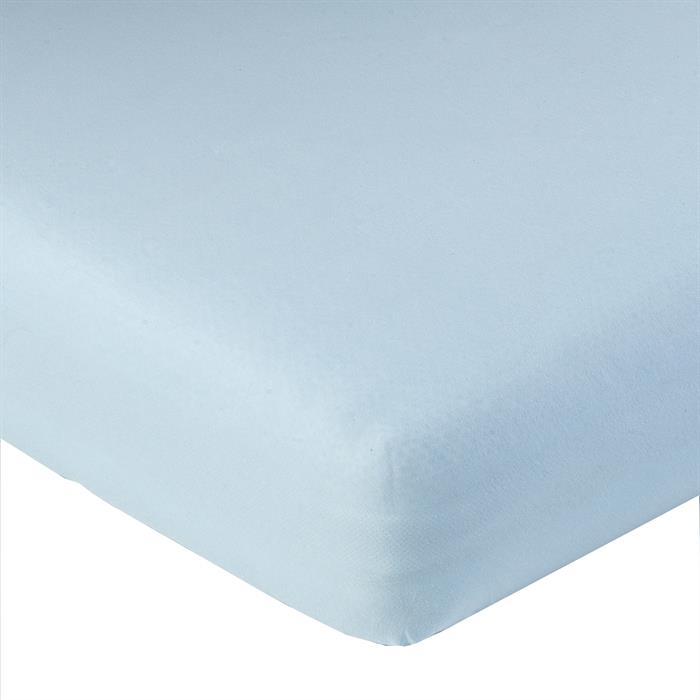 Jersey Spannbettlaken PIA, 180x200 cm hellblau