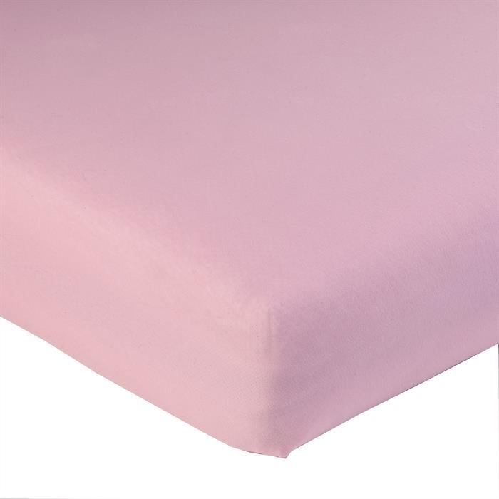Jersey Spannbettlaken PIA, 90x200 cm in rosa