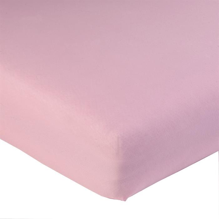 Jersey Spannbettlaken PIA, 120x200 cm rosa