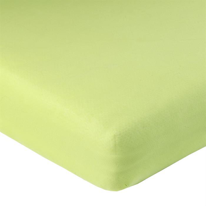Jersey Spannbettlaken PIA, 90x200 cm apfelgrün