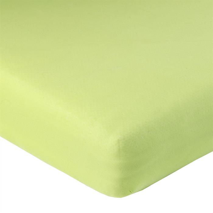 Jersey Spannbettlaken PIA, 140x200 cm apfelgrün