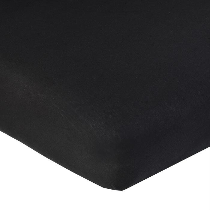 Jersey Spannbettlaken PIA, 180x200 cm schwarz