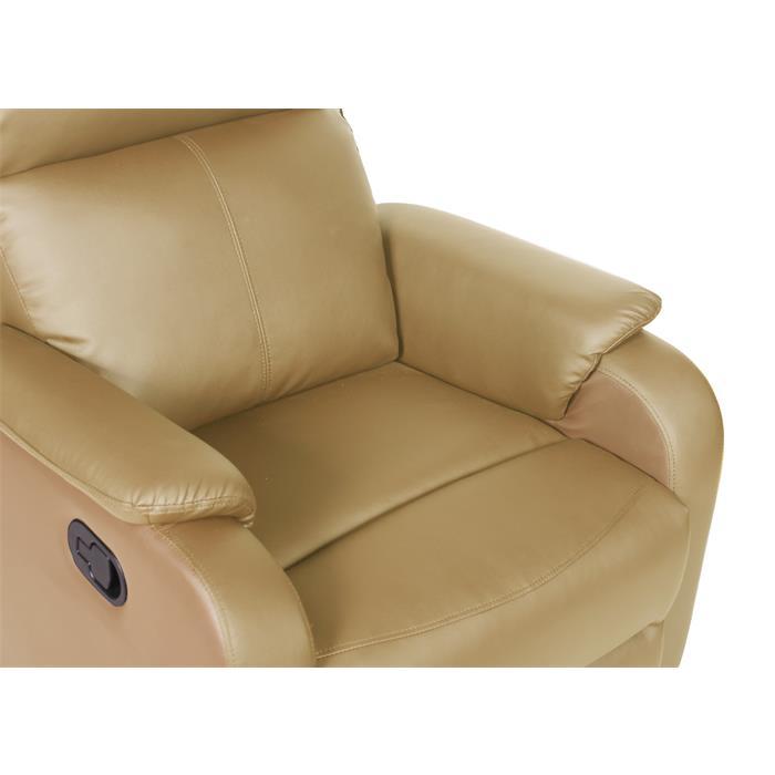 Relaxsessel COZY in braun und ocker
