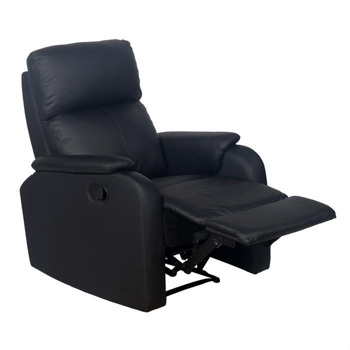 Relaxsessel SNOOZE mit Massagefunktion in schwarz