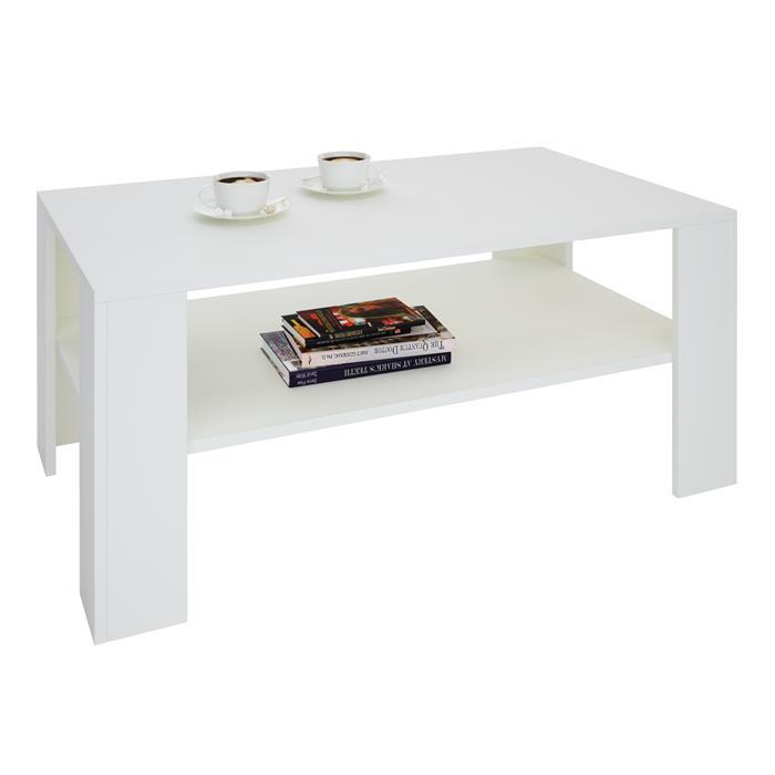 Couchtisch ANIMO in weiß, 100 x 60 cm