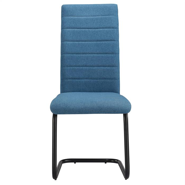 Esszimmerstuhl 4er Set PANAMA in blau