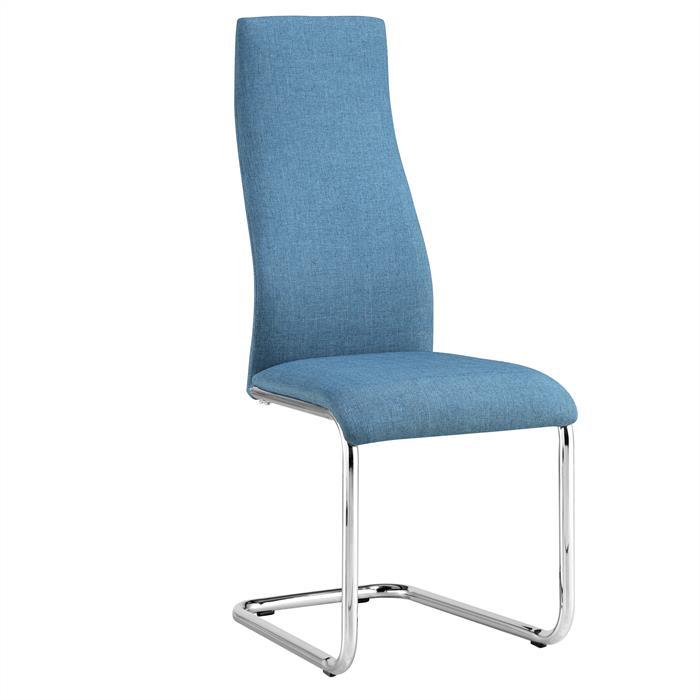 Esszimmerstuhl SAGRES 4er Set in blau