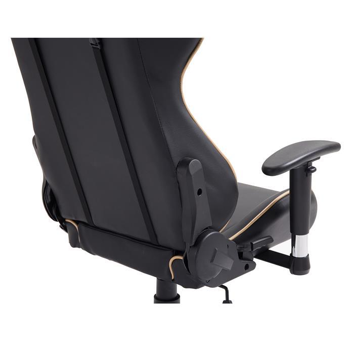 Bürodrehstuhl GAMING in schwarz/gold