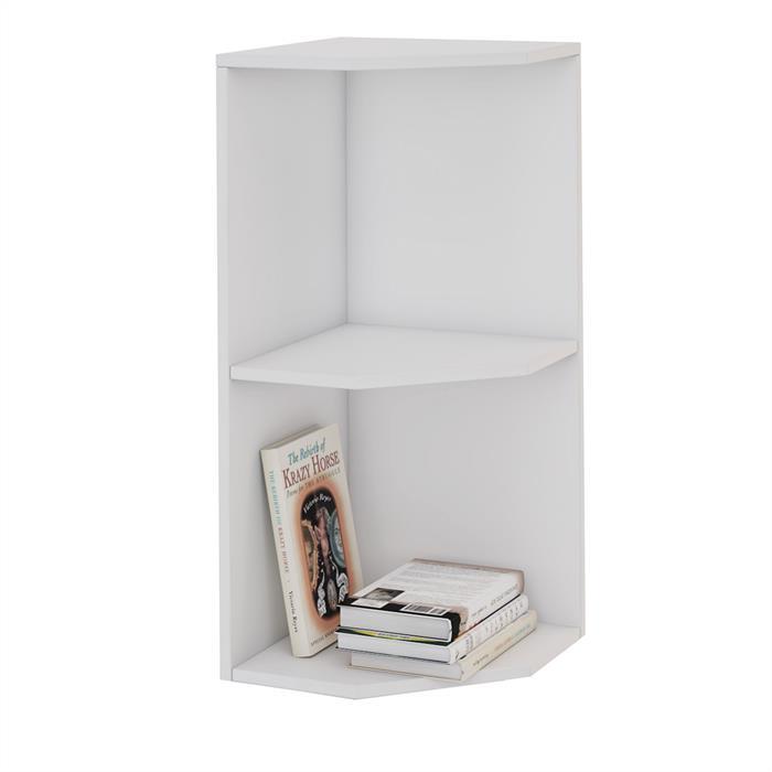 eckregal angolo in wei 2 f cher caro m bel. Black Bedroom Furniture Sets. Home Design Ideas