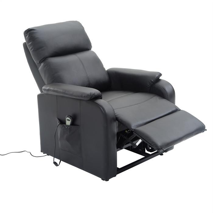 fernsehsessel senior mit aufstehfunktion in schwarz caro m bel. Black Bedroom Furniture Sets. Home Design Ideas